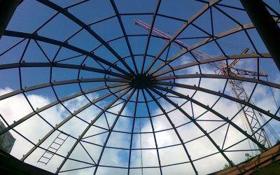 Реконструкция санатория Летцы (купол)